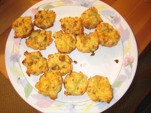 Sausage Potato Puffs