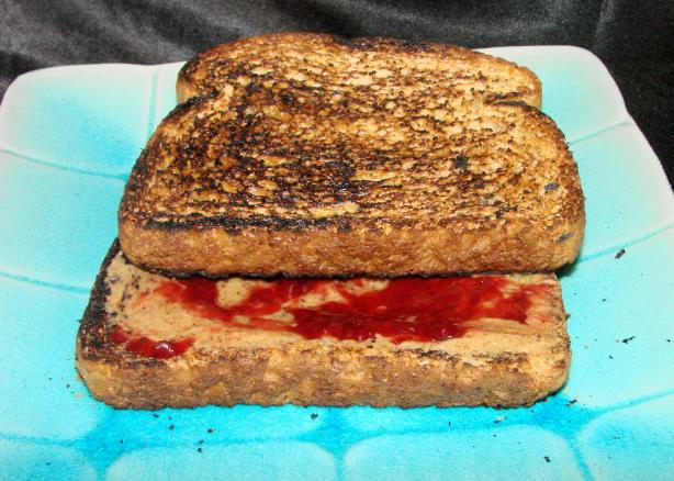 Almond Butter and Jelly Sandwich