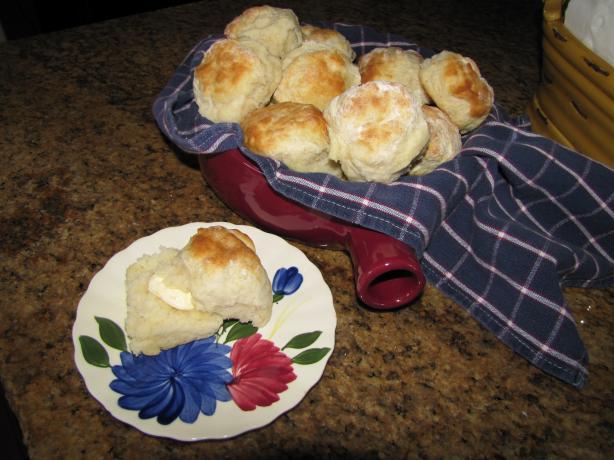 """Jami's """"smart"""" Buttermilk Biscuits"""