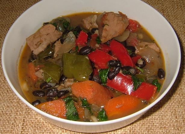 Turkey and Black Bean Stew