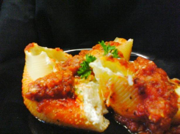 Anthony's Favorite Stuffed Shells (Lite-Bleu)