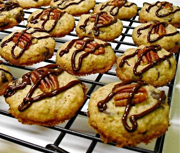 Choc-Pecan Cookies - Gluten-Free