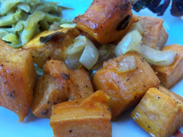 Oven-Roasted Sweet Potatoes