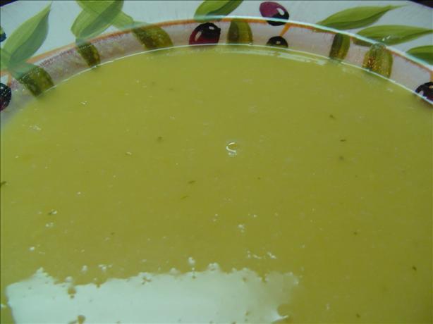 Squash & Leek Soup