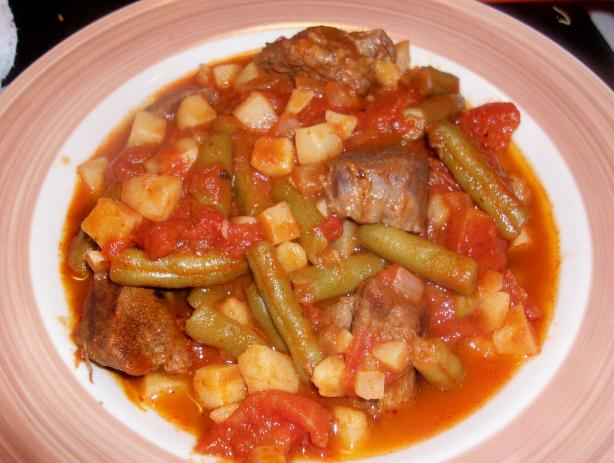 Beef Stew With Spicy V-8