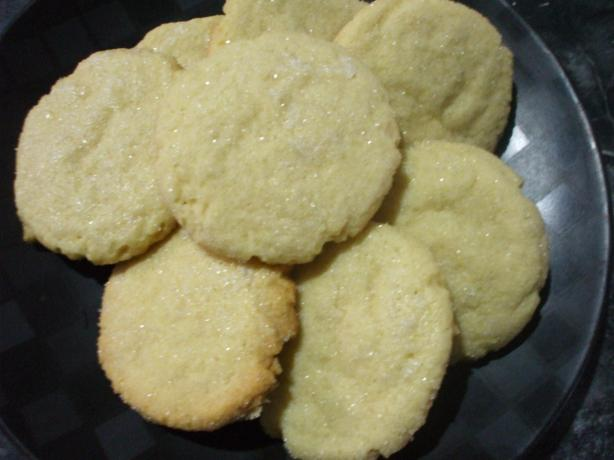 Sugar Cookies (Light & Crisp)