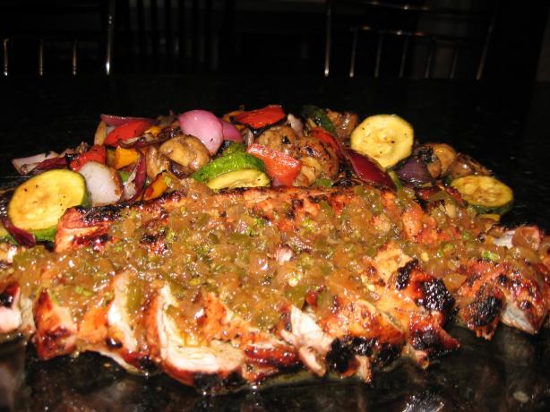 Pork Tenderloin Rodriguez W/Guava Glaze & Orange Habaneros