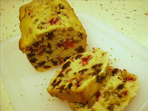 Cranberry Raisin Nut Bread