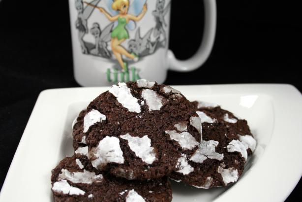 Flourless Chocolate Snowball Cookies