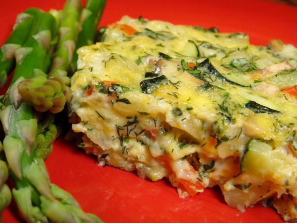 Zucchini and Potato Frittata