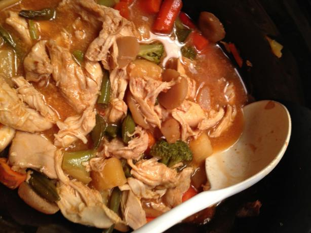 Crock Pot Hawaiian Chicken One-Dish Meal