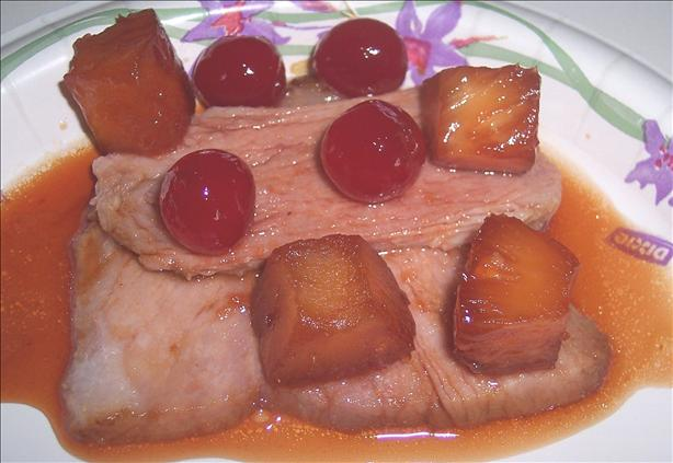 Cherry Pineapple Holiday Ham Glaze