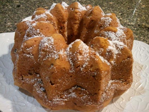 Pumpkin Bundt Cake II