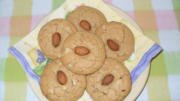 Triple Almond Cookies (Vegan)