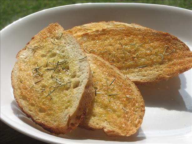 Mj's Herbed Garlic Toast