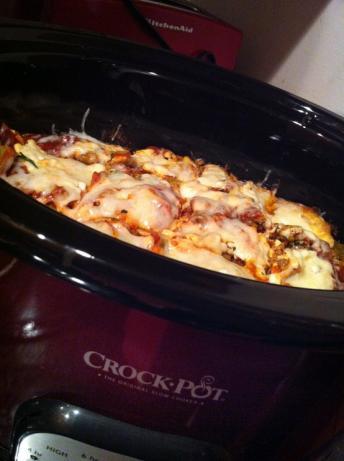 Healthy Turkey Lasagna (Crock Pot)