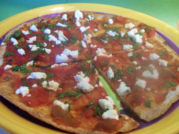 Tostadas With Goat Cheese and Salsa