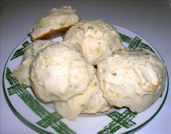 Sour Cream-Chive Drop Biscuits