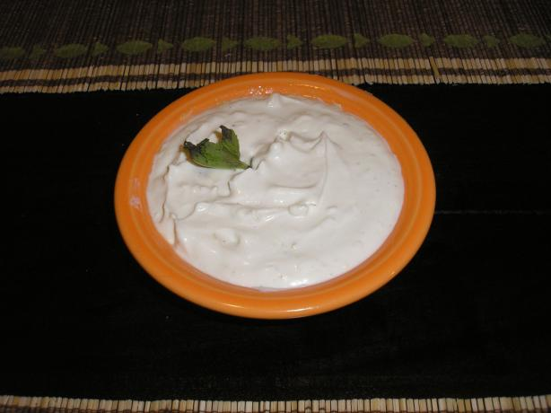 Quick Tahini Yogurt Sauce