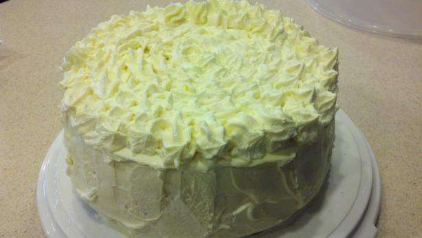 Almond Lemon Cake With Lemon Mascarpone Frosting