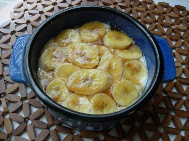 Banana Oatmeal Breakfast Brulée