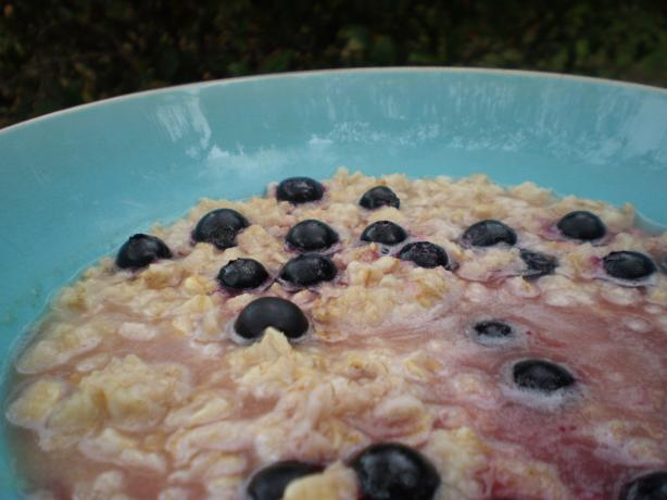 Apple Blueberry Oatmeal