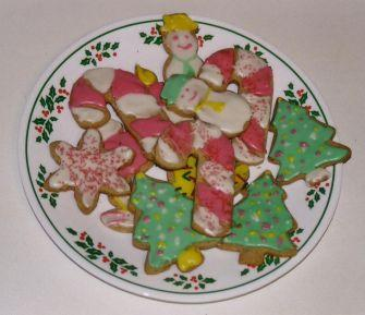 Decorated Spice Cookies