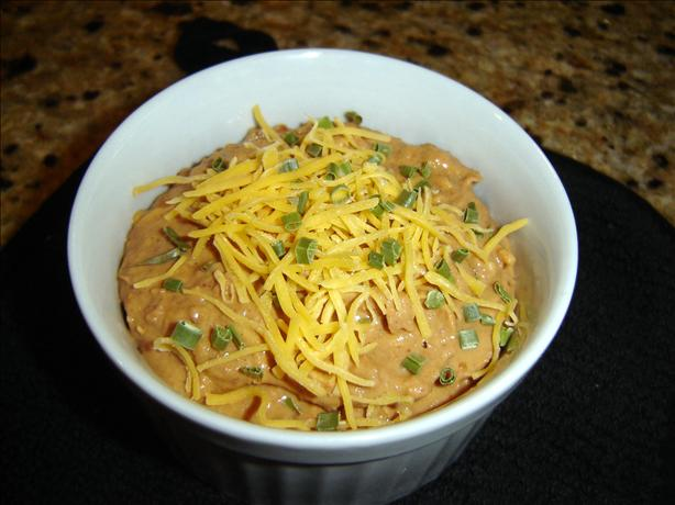 Low-fat Hot Mexican Bean Dip