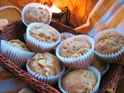 Apple & Toasted Pecan Muffins