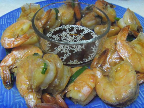 Stir-Fried Shrimp, Chinese Style