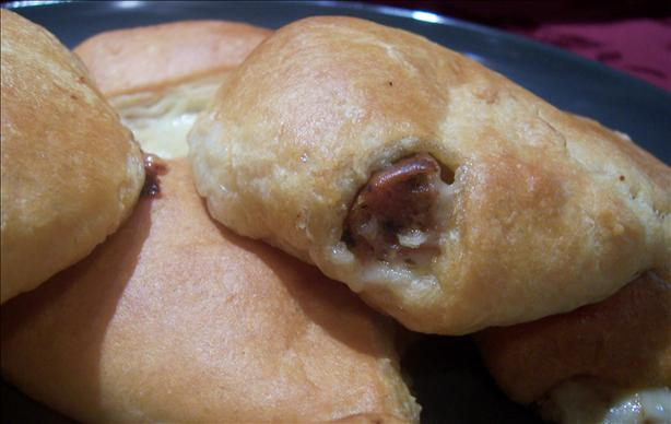 Easy Crescent Sausage and Cheese Appetizers