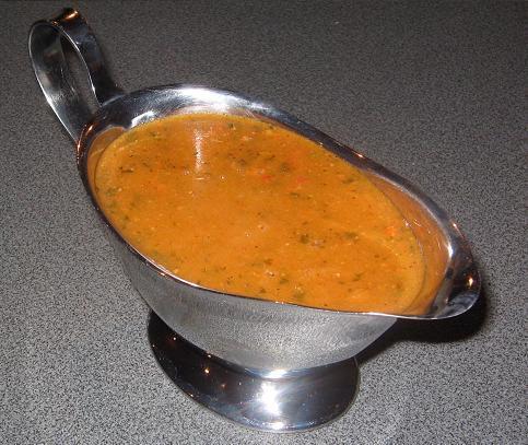 Tomato Pesto Gravy