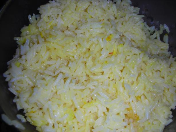 Classic Saffron Rice
