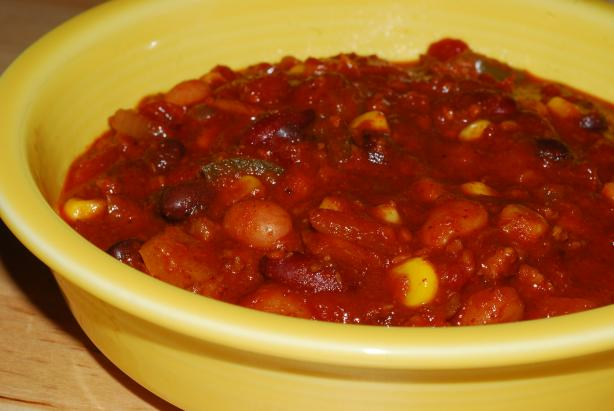 Dawn's Favorite Low-Fat Chili