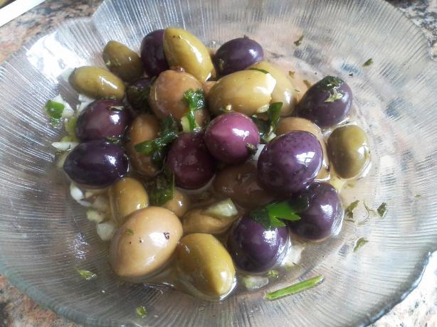 Emeril Lagasse's Creole Olive Salad