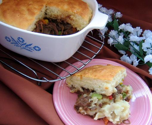 Shepherd Pie With Leftover Roast Beef and Potatoes by Paula Deen
