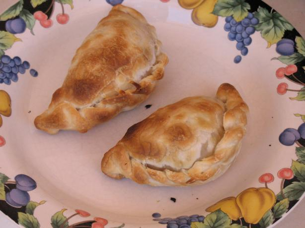 Ham, Cheese and Mushroom Turnovers