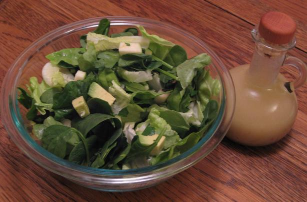 Gr8 Green Salad With Lemon, Garlic Vinaigrette