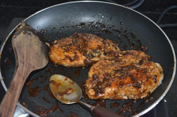 Chicken in Beer Honey Mustard Sauce