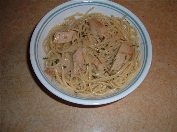 Spaghetti With Tuna and Lemon
