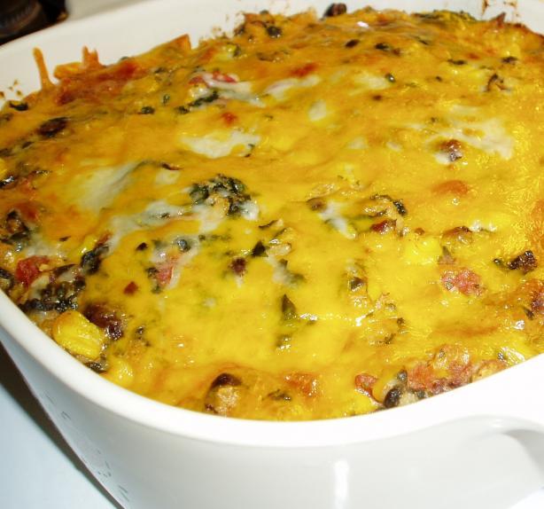 Easy Vegetarian Mexican Lasagna