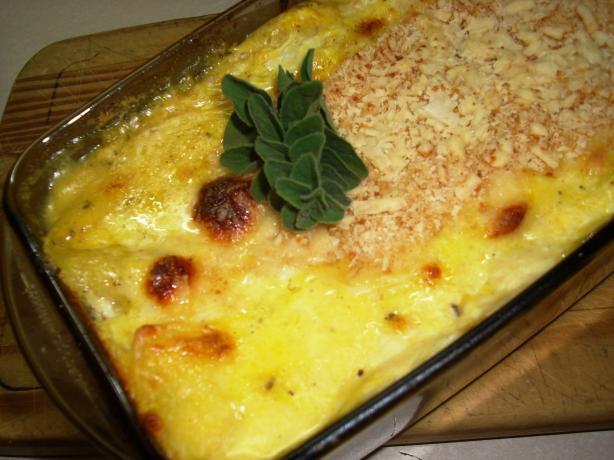 Pumpkin and Goat Cheese Lasagna