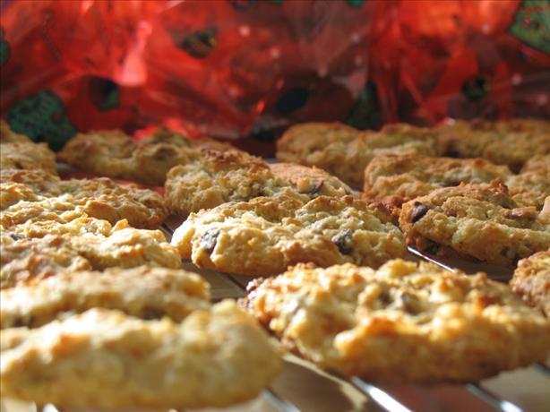 Chocolate Butterscotch Graham Cookies
