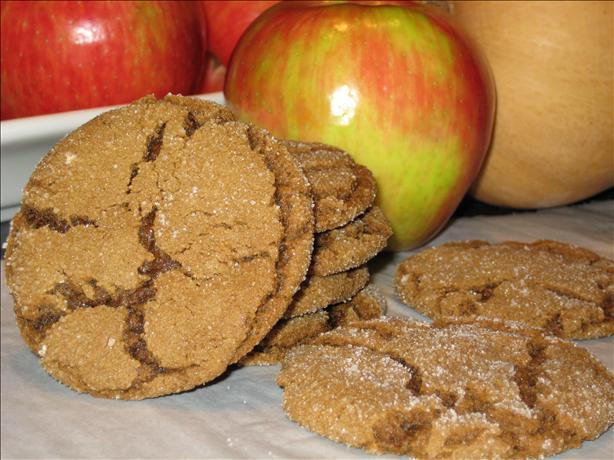 Grandma's Chewy Molasses Cookies