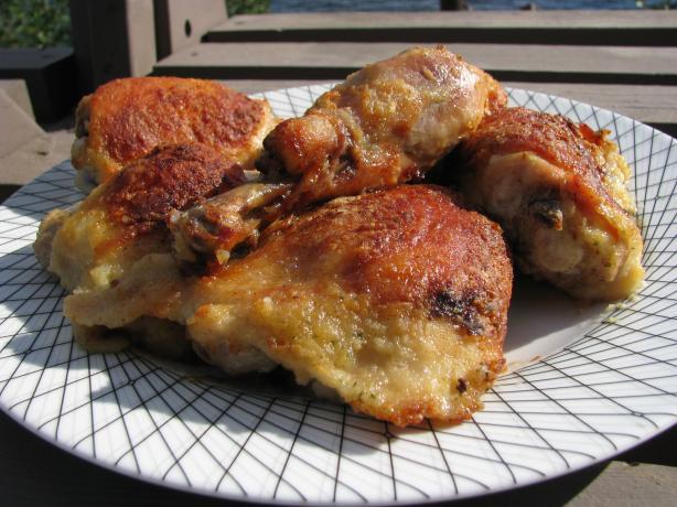 "Buttermilk Ranch Oven ""fried"" Chicken"