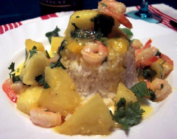 Tropical Passion Sweet & Sour Shrimp