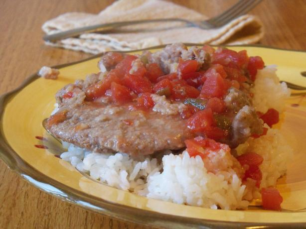 Swiss Steak With a Kick for the Crock Pot
