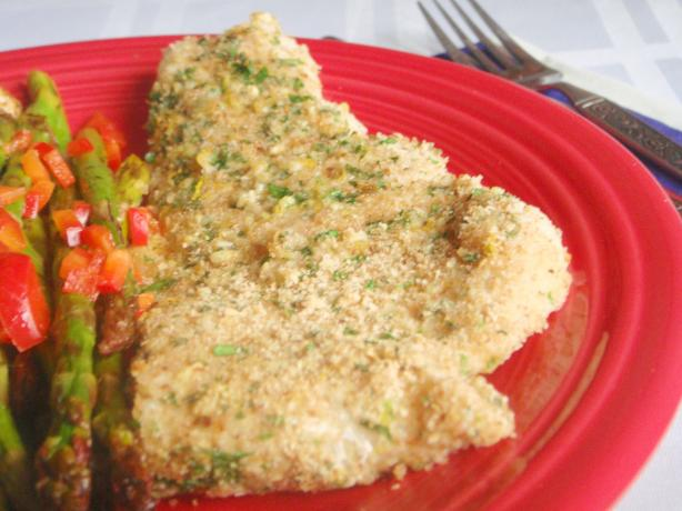Herb-Crusted Fish