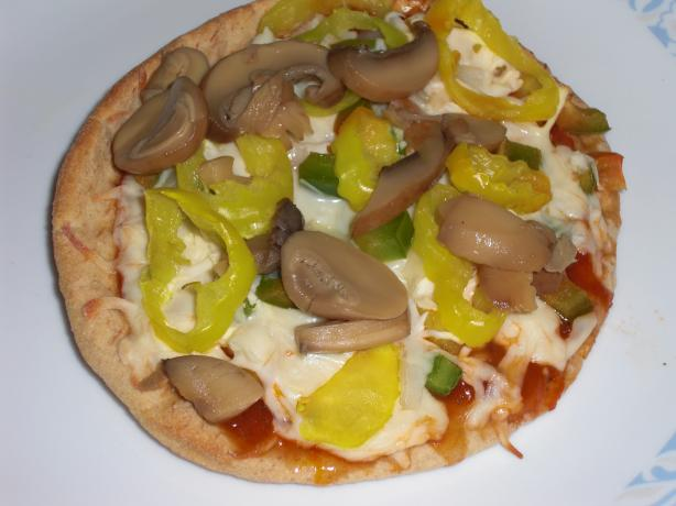 Weight Watchers Pita Pizza