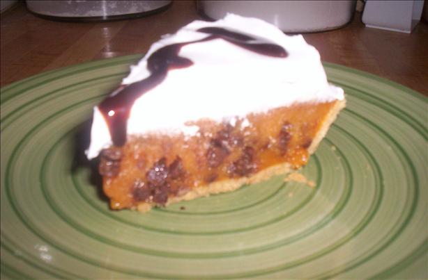 Mini Chocolate Chip Butterscotch Pudding Pie